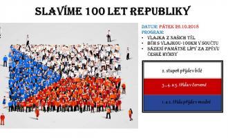 Slavíme 100 let republiky