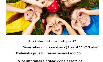 Letní příměstské tábory na ZŠ Želiv