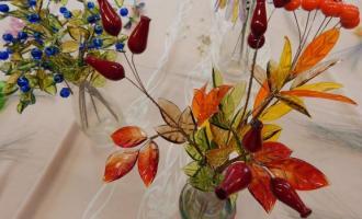 Skleněné květiny