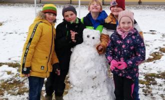 Zimní radovánky ve školní družině